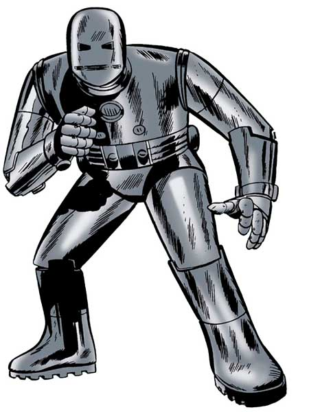 Prima armatura di Iron Man
