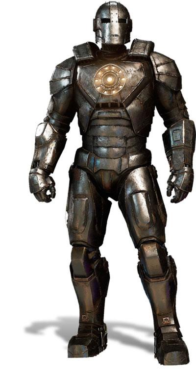 Vecchia armatura di Iron Man