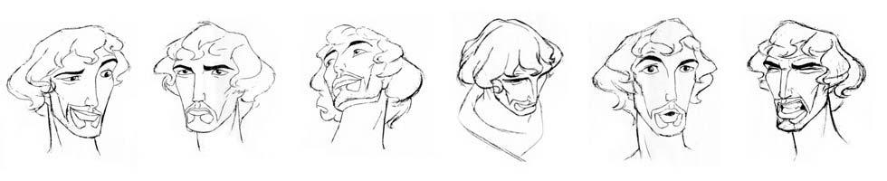 character design di mosè
