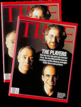 SKG sulla cover del Time Magazine